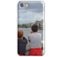 we are in Paris on the Seine ... France iPhone Case/Skin