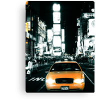 Yello Juicy Cab Canvas Print