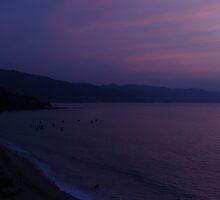 Like purple haze - Como bruma lila by Bernhard Matejka
