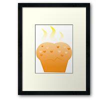 Baking steamy Hot Buns Framed Print