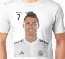 Cr7, cristiano ronaldo, real madrid, portugal Unisex T-Shirt
