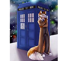 Dr. Who Fox Photographic Print