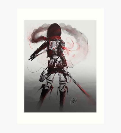 Mikasa Art Hard Pen Art Print