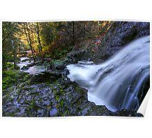 Tod Creek Falls Poster