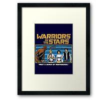 Warriors of the Stars Framed Print