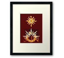 Leona - Chosen of the Sun - League of Legends Framed Print