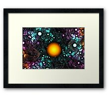 Central Star Framed Print