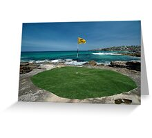 18th Hole, Sculptures By The Sea, Australia 2011 Greeting Card