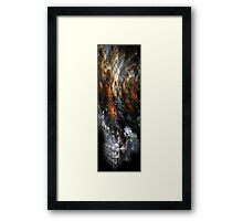 Flashes of summer lightning Framed Print