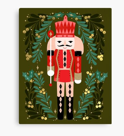 Nutcracker by Andrea Lauren  Canvas Print