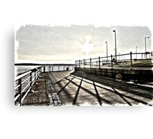 Sunset HDR Canvas Print