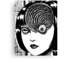 Uzumaki – Eye Canvas Print