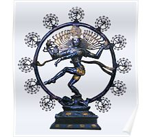 Shiva Nataraj, Lord of Dance (an actual factual fractal)  Poster