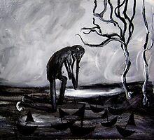 weeping man by glennbrady