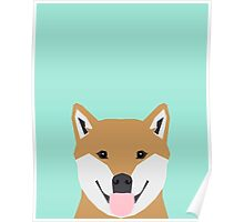 Cassidy - Shiba Inu cute gifts funny dog gifts for cell phone case dog lover gifts for dog person Poster