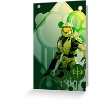 Master Chief - Halo Greeting Card