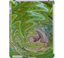 green? iPad Case/Skin