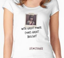 LiS - with great power comes great bullshit Women's Fitted Scoop T-Shirt