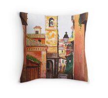 Toledo Iglesia Throw Pillow