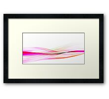 Waves of Passion Framed Print