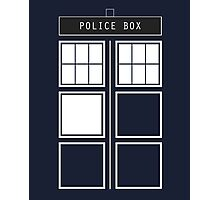 Feel like a police box Photographic Print