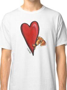 Love Dachshunds Classic T-Shirt