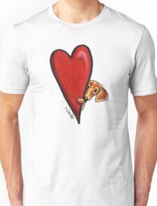 Love Dachshunds Unisex T-Shirt