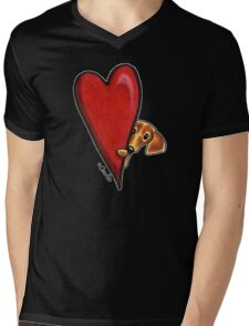 Love Dachshunds Mens V-Neck T-Shirt