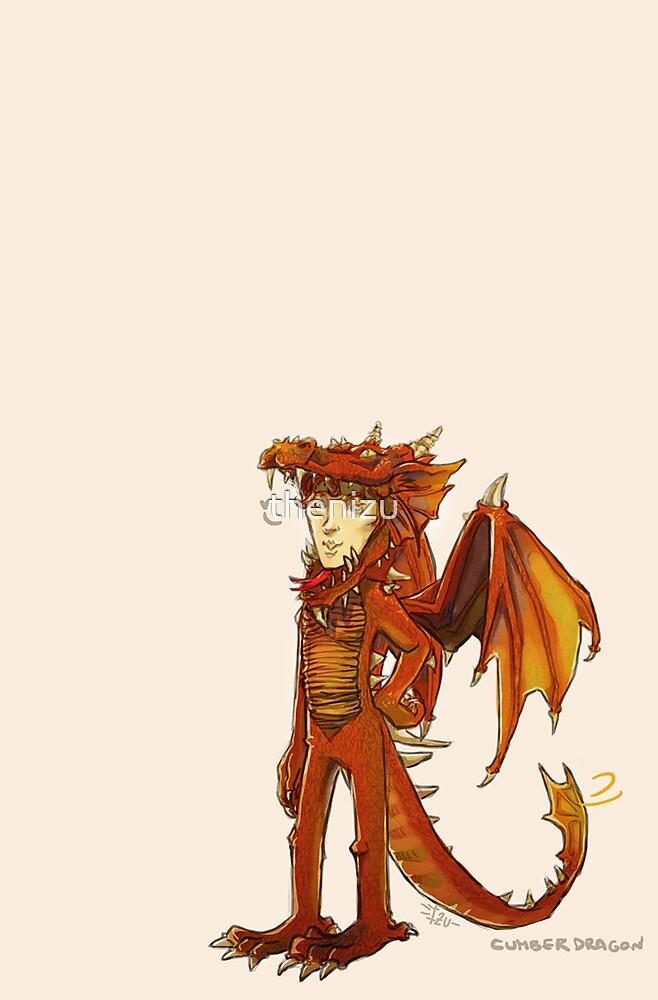 The Mighty Cumberdragon by thenizu