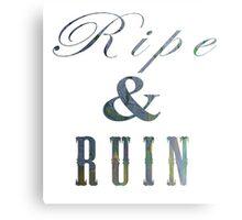 Interlude 1 (Ripe and Ruin) Metal Print