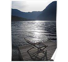 Lake Bohinj, Slovenia Poster