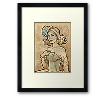 Iron Woman 7 Framed Print