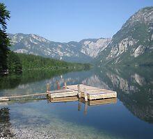 Lake Bohinj, Slovenia by stoo61