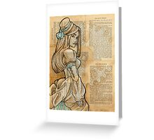 The Iron Woman 9 Greeting Card