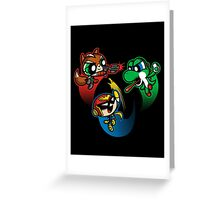 Super Puff Bros 2 Greeting Card