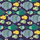 Fish pattern by mjdaluz