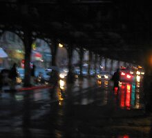 Dark rains in the city by Alberto  DeJesus