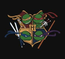 TMNT at Hogwarts Kids Tee