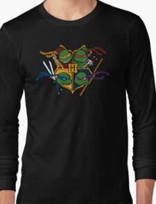 TMNT at Hogwarts Long Sleeve T-Shirt