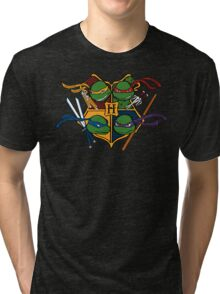 TMNT at Hogwarts Tri-blend T-Shirt