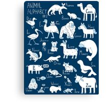 Animal Alphabet #2 Canvas Print