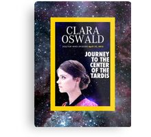 Clara Oswald on National Geographic Metal Print