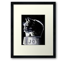 It Isn't Funny Anymore Framed Print