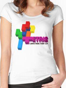 ETRIS CONSTRUCTION CO Women's Fitted Scoop T-Shirt