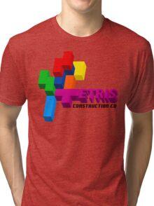 ETRIS CONSTRUCTION CO Tri-blend T-Shirt