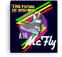 Air McFly  Canvas Print