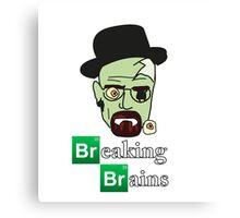 Breaking Brains  Canvas Print