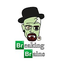 Breaking Brains  Photographic Print
