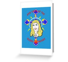 Our Lady Of The Rebel Heart Greeting Card