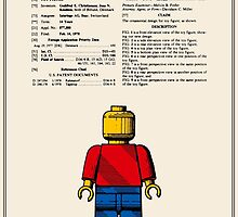 Lego Man Patent - Colour (v1) by FinlayMcNevin